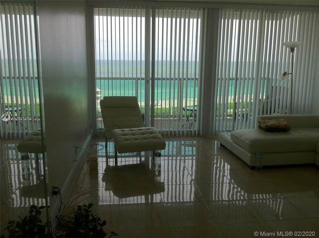 100 Bayview Dr #1610, Sunny Isles Beach, FL 33160 (MLS #A10811076) :: The Paiz Group