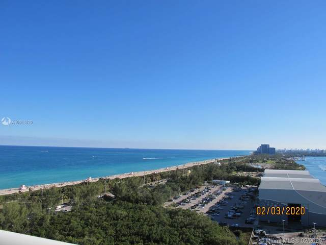 100 Bayview Dr #2125, Sunny Isles Beach, FL 33160 (MLS #A10811829) :: The Paiz Group