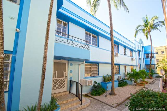 1250 Drexel Ave #8, Miami Beach, FL 33139 (MLS #A10812498) :: The Jack Coden Group