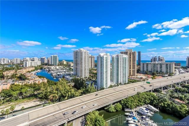 3500 Mystic Pointe Dr #2505, Aventura, FL 33180 (MLS #A10812843) :: Green Realty Properties