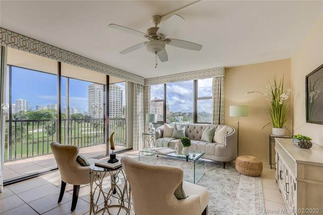 20335 W Country Club Dr #409, Aventura, FL 33180 (MLS #A10812868) :: Berkshire Hathaway HomeServices EWM Realty