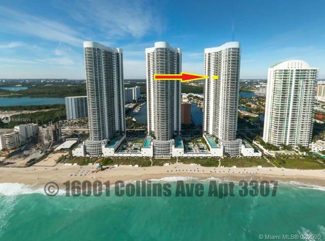 16001 Collins Ave #3307, Sunny Isles Beach, FL 33160 (#A10813279) :: Real Estate Authority