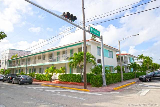 7300 Byron Ave #17, Miami Beach, FL 33141 (MLS #A10813283) :: Green Realty Properties