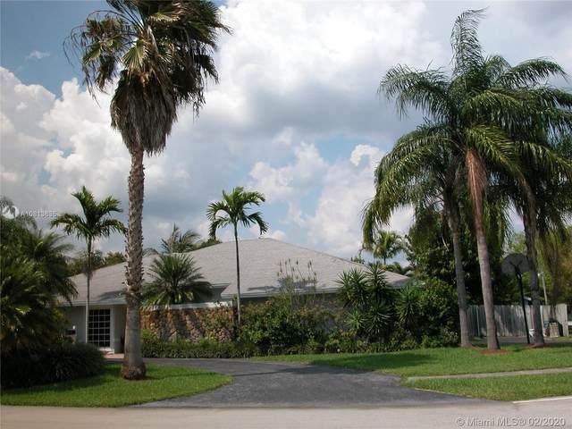 8201 SW 162nd St, Palmetto Bay, FL 33157 (MLS #A10813635) :: Kurz Enterprise