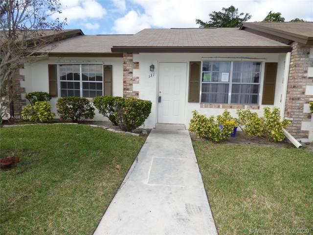131 Doe Trl #131, Jupiter, FL 33458 (MLS #A10814158) :: Green Realty Properties