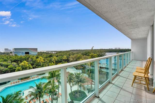 100 Bayview Dr #624, Sunny Isles Beach, FL 33160 (MLS #A10815284) :: The Jack Coden Group