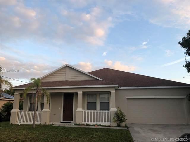 125 SW Glenwood Dr, Port Saint Lucie, FL 34984 (MLS #A10815451) :: Castelli Real Estate Services