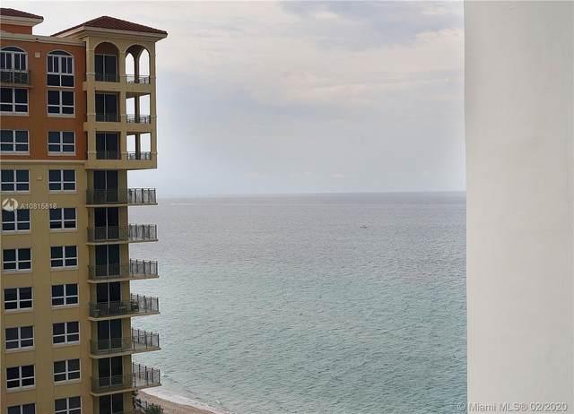 3140 S Ocean Drive #1607, Hallandale Beach, FL 33009 (MLS #A10815818) :: Berkshire Hathaway HomeServices EWM Realty