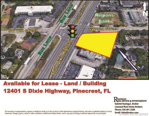 12401 S Dixie Hwy, Pinecrest, FL 33156 (MLS #A10816002) :: The Riley Smith Group