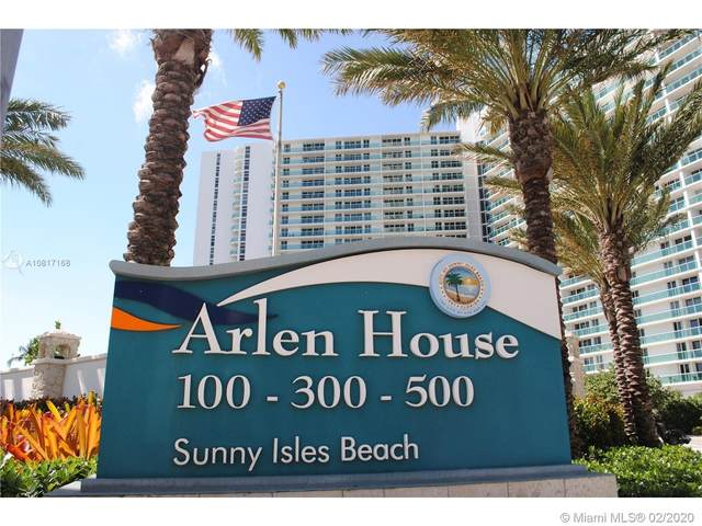 100 Bayview Dr #209, Sunny Isles Beach, FL 33160 (MLS #A10817168) :: The Paiz Group