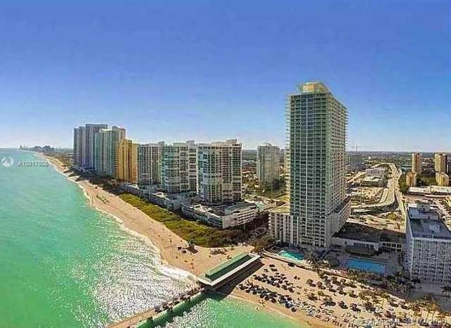 16699 Collins Ave #2704, Sunny Isles Beach, FL 33160 (MLS #A10817808) :: The Paiz Group