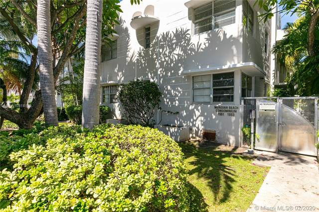 1551 Meridian Ave #102, Miami Beach, FL 33139 (MLS #A10818135) :: The Paiz Group