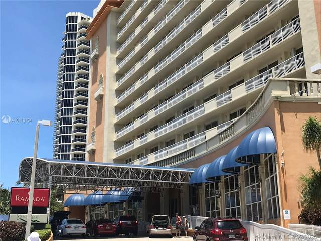 19201 Collins Ave #106, Sunny Isles Beach, FL 33160 (MLS #A10818194) :: The Paiz Group