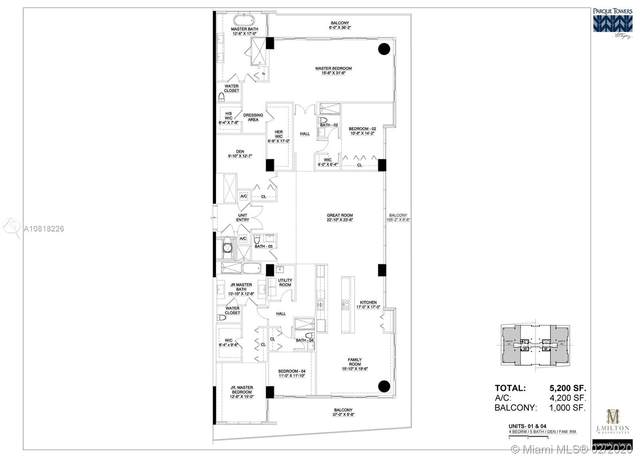 330 Sunny Isles Blvd Lph1, Sunny Isles Beach, FL 33160 (MLS #A10818226) :: United Realty Group