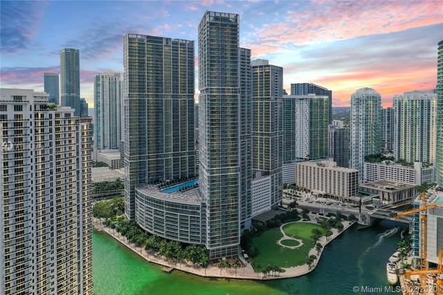 475 Brickell Ave #4807, Miami, FL 33131 (MLS #A10818370) :: Berkshire Hathaway HomeServices EWM Realty