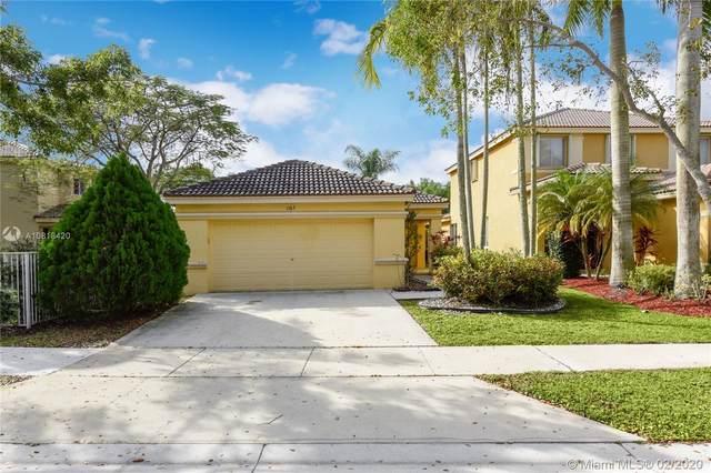 1163 Golden Cane Dr, Weston, FL 33327 (MLS #A10818420) :: Berkshire Hathaway HomeServices EWM Realty