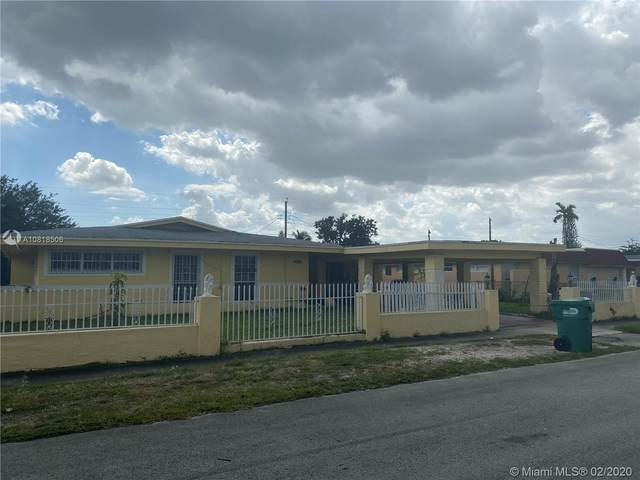 4000 NW 190th St, Miami Gardens, FL 33055 (MLS #A10818506) :: THE BANNON GROUP at RE/MAX CONSULTANTS REALTY I