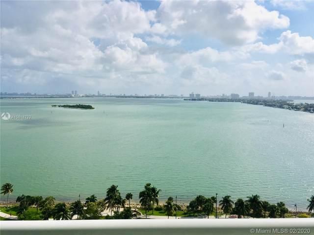 1800 N Bayshore Dr #1807, Miami, FL 33132 (MLS #A10818722) :: Berkshire Hathaway HomeServices EWM Realty