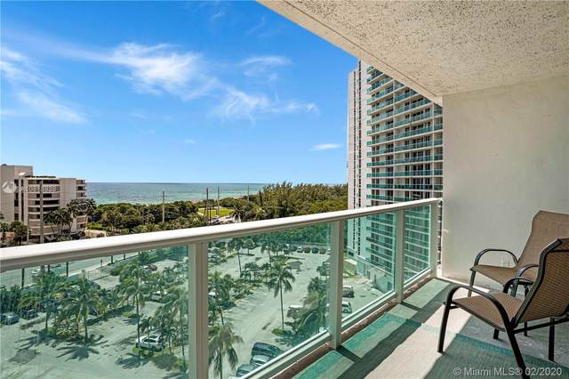 100 Bayview Dr #906, Sunny Isles Beach, FL 33160 (MLS #A10818838) :: The Jack Coden Group