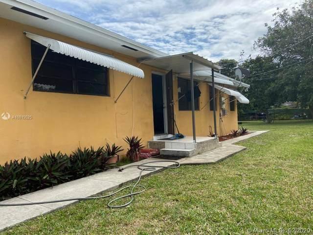 2514 Jackson St, Hollywood, FL 33020 (MLS #A10819025) :: Berkshire Hathaway HomeServices EWM Realty