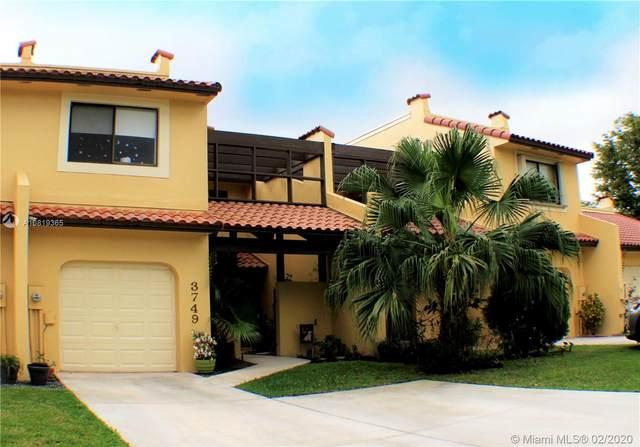 3749 Alcantara Ave C-80, Doral, FL 33178 (MLS #A10819365) :: Berkshire Hathaway HomeServices EWM Realty