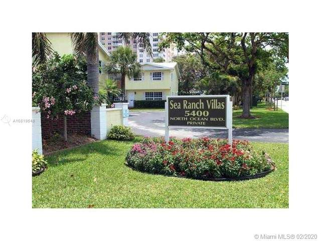 5400 N Ocean Blvd #33, Lauderdale By The Sea, FL 33308 (MLS #A10819548) :: Castelli Real Estate Services