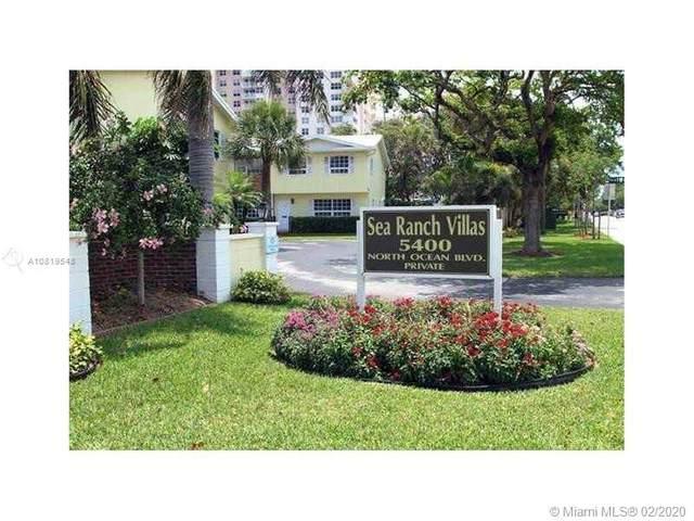 5400 N Ocean Blvd #33, Lauderdale By The Sea, FL 33308 (MLS #A10819548) :: RE/MAX