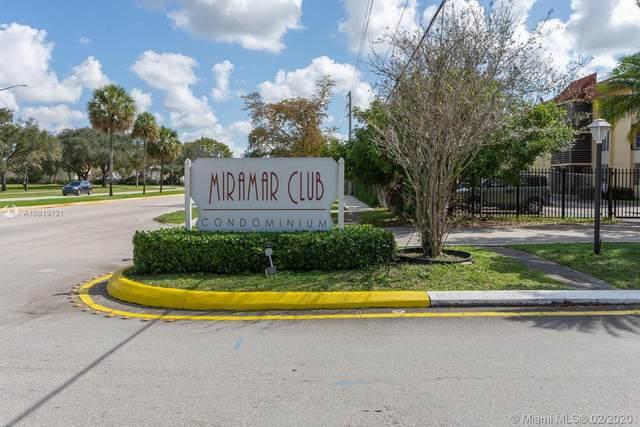 3252 Foxcroft Rd #112, Miramar, FL 33025 (MLS #A10819721) :: Berkshire Hathaway HomeServices EWM Realty