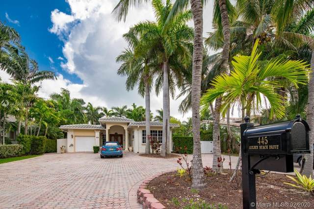 445 Golden Beach Dr, Golden Beach, FL 33160 (MLS #A10819774) :: ONE Sotheby's International Realty