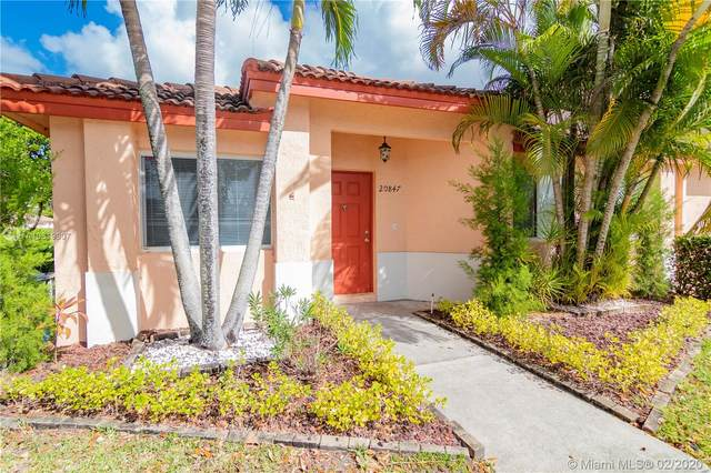 20847 NW 4th St, Pembroke Pines, FL 33029 (MLS #A10819907) :: Castelli Real Estate Services
