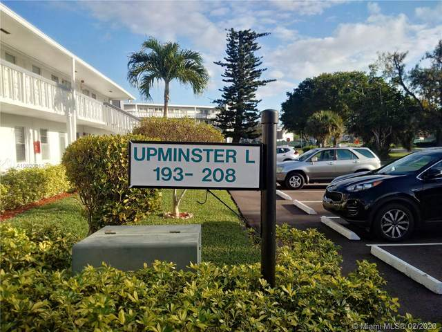 196 Upminster L #196, Deerfield Beach, FL 33442 (MLS #A10820011) :: RE/MAX
