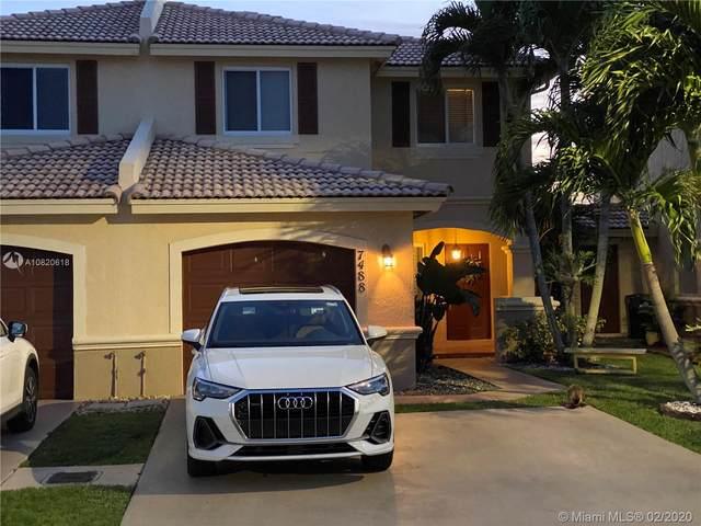 7488 SW 164th Ct #7488, Miami, FL 33193 (MLS #A10820618) :: Prestige Realty Group