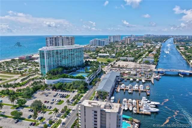 1 N Ocean Blvd #1609, Pompano Beach, FL 33062 (MLS #A10821088) :: Grove Properties