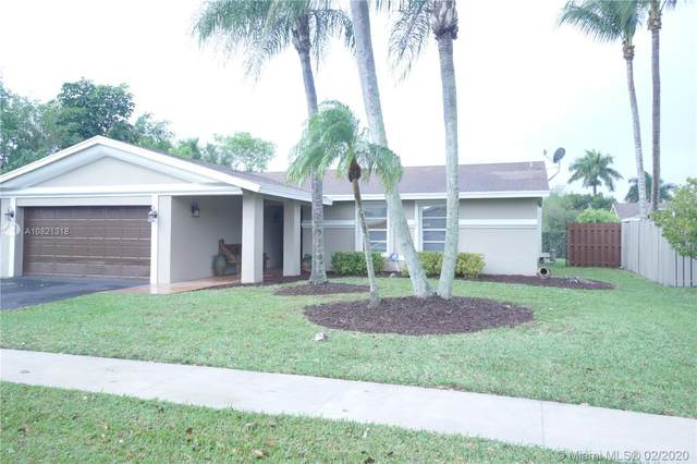 583 SW 168th Way, Weston, FL 33326 (MLS #A10821318) :: THE BANNON GROUP at RE/MAX CONSULTANTS REALTY I