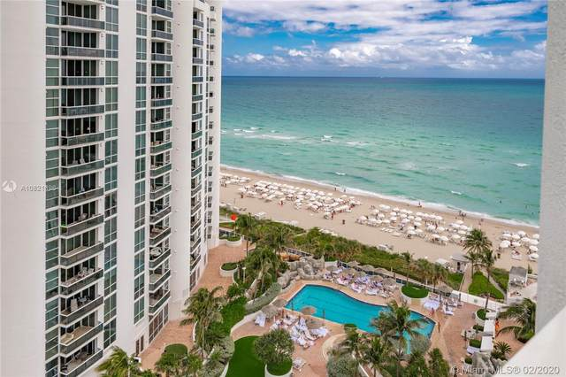 18001 Collins Ave #1205, Sunny Isles Beach, FL 33160 (MLS #A10821396) :: United Realty Group