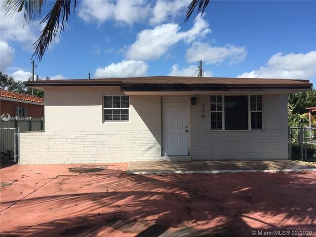 779 E 20th St, Hialeah, FL 33013 (MLS #A10821460) :: Berkshire Hathaway HomeServices EWM Realty