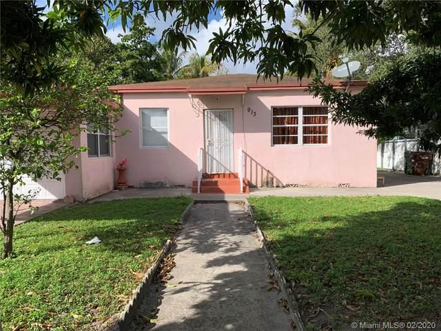 913 E 22nd St, Hialeah, FL 33013 (MLS #A10821644) :: Berkshire Hathaway HomeServices EWM Realty
