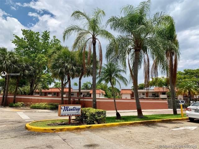 860 NE 209th Ter 203-33, Miami, FL 33179 (MLS #A10822244) :: Berkshire Hathaway HomeServices EWM Realty