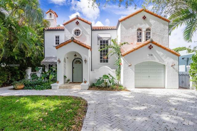 1118 Capri St, Coral Gables, FL 33134 (MLS #A10822403) :: Ray De Leon with One Sotheby's International Realty