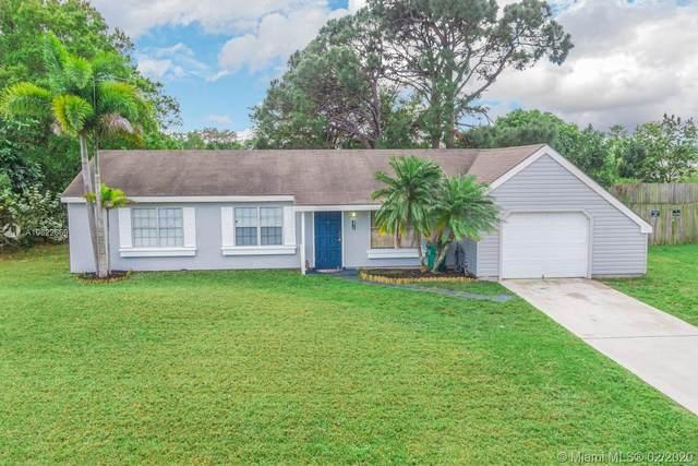 274 SW Homeland Rd, Port Saint Lucie, FL 34953 (MLS #A10822669) :: Berkshire Hathaway HomeServices EWM Realty