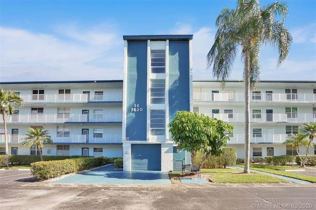 7620 NW 18th St #205, Margate, FL 33063 (#A10823328) :: Realty100