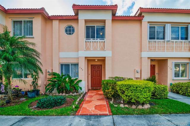 744 NW 208th Dr #744, Pembroke Pines, FL 33029 (MLS #A10823554) :: Berkshire Hathaway HomeServices EWM Realty