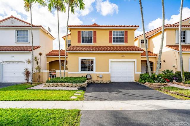 17236 NW 8th St, Pembroke Pines, FL 33029 (MLS #A10823605) :: United Realty Group