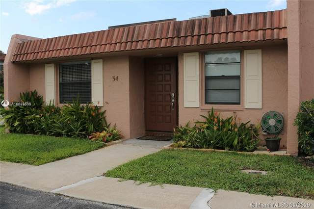 34 Toledo Ct 1-35, Davie, FL 33324 (MLS #A10824339) :: The Howland Group