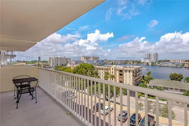 137 E Golden Isles Dr #1011, Hallandale Beach, FL 33009 (MLS #A10824386) :: Berkshire Hathaway HomeServices EWM Realty