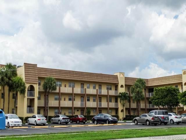 8901 NE Sunrise Lakes Blvd #210, Sunrise, FL 33322 (MLS #A10824450) :: Berkshire Hathaway HomeServices EWM Realty