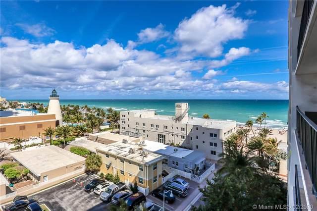 322 Buchanan St #709, Hollywood, FL 33019 (MLS #A10824495) :: Green Realty Properties