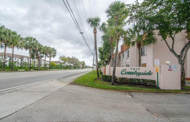 7610 Stirling Rd E202, Davie, FL 33024 (MLS #A10824614) :: The Howland Group