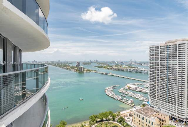 488 NE 18th St #2810, Miami, FL 33132 (MLS #A10825948) :: The Howland Group