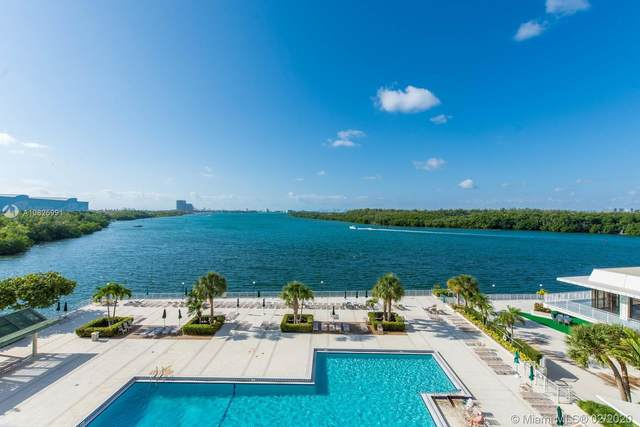 300 Bayview Dr #508, Sunny Isles Beach, FL 33160 (MLS #A10825991) :: The Adrian Foley Group